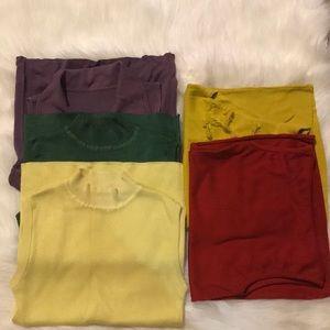 Sweaters - Bundle of 6 Sleeveless sweaters
